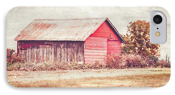 Small Red Barn IPhone Case