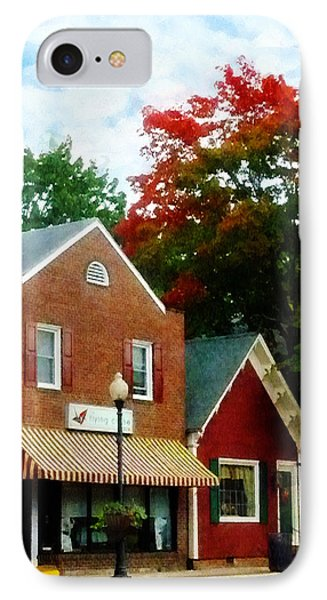 Small Town In Autumn IPhone Case