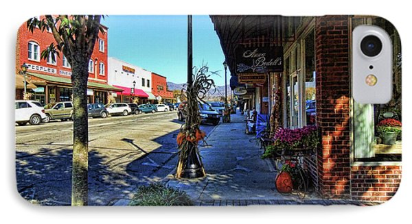 Small Town U. S. A. IPhone Case by HH Photography of Florida