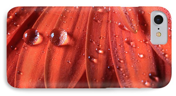 Small Water Drops IPhone Case by Angela Murdock