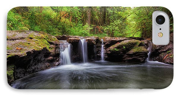 Small Waterfall At Rock Creek Phone Case by David Gn
