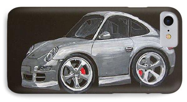 Smart Porsche Phone Case by Richard Le Page