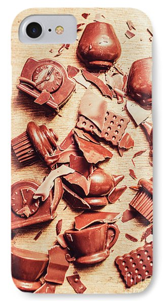 Smashing Chocolate Fondue Party IPhone Case by Jorgo Photography - Wall Art Gallery
