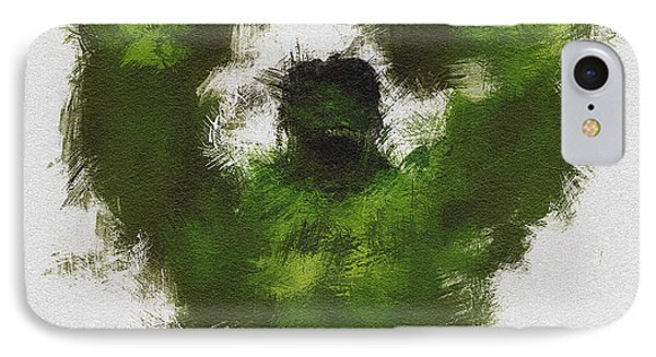 Smashing Green Phone Case by Miranda Sether