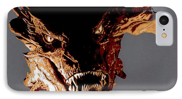Smaug The Terrible Phone Case by Kayleigh Semeniuk