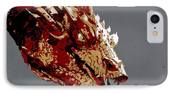 Smaug The Unassessably Wealthy Phone Case by Kayleigh Semeniuk