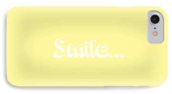 Smile IPhone Case by Inspired Arts