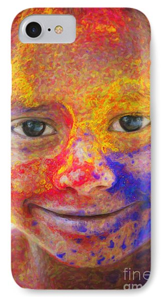 Smile Your Amazing IPhone Case by Tim Gainey