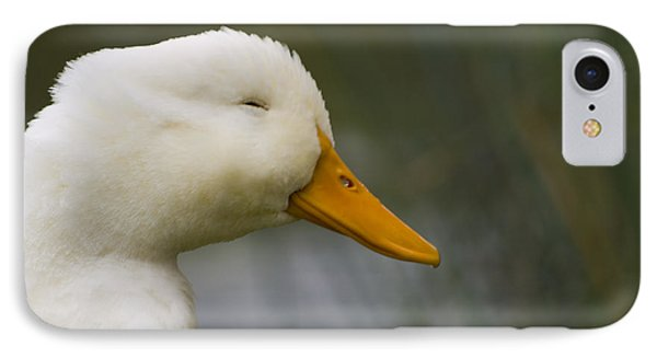 Smiling Pekin Duck IPhone Case