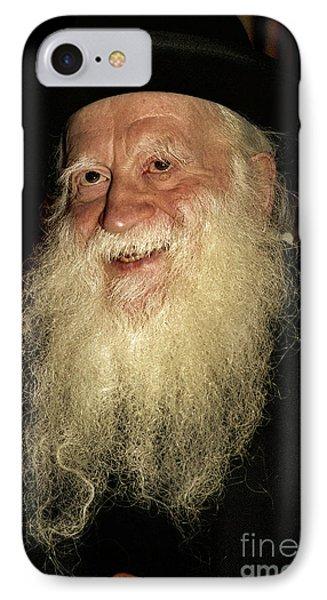 Smiling Picture Of Rabbi Yehuda Zev Segal IPhone Case