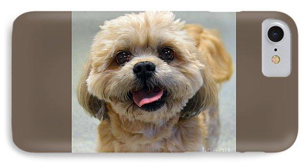 Smiling Shih Tzu Dog IPhone Case