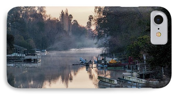 Smith Canal In Winter IPhone Case