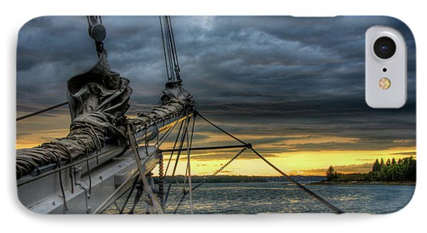 Smith Cove Sunset IPhone Case by Fred LeBlanc