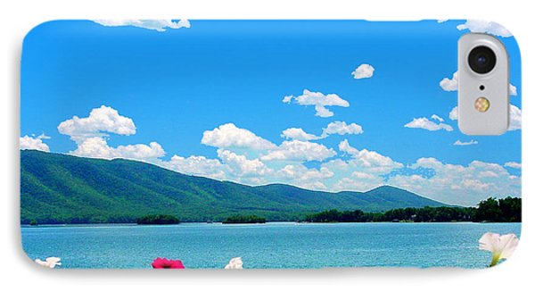 Smith Mountain Lake Grand View IPhone Case by The American Shutterbug Society