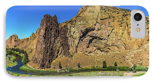 IPhone Case featuring the photograph Smith Rock by Jonny D