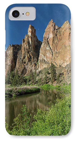 Smith Rock Spires IPhone Case by Greg Nyquist