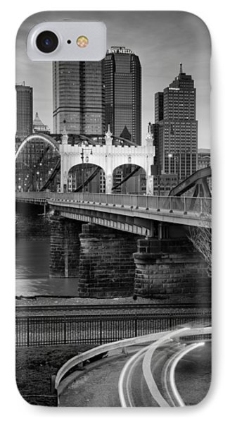 Smithfield Street Bridge 7 IPhone Case by Emmanuel Panagiotakis