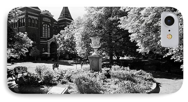 smithsonian arts and industries building and enid haupt gardens Washington DC USA IPhone Case