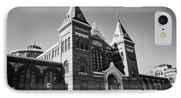 smithsonian arts and industries building Washington DC USA IPhone Case