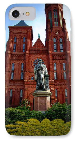 Smithsonian Institute - Washington D. C. IPhone Case by Glenn McCarthy Art and Photography