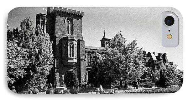smithsonian institution building castle Washington DC USA IPhone Case