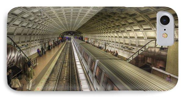 Smithsonian Metro Station IPhone Case