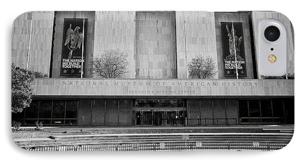 smithsonian national museum of american history kenneth behring center Washington DC USA IPhone 7 Case