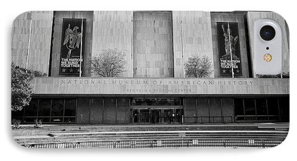 smithsonian national museum of american history kenneth behring center Washington DC USA IPhone Case by Joe Fox