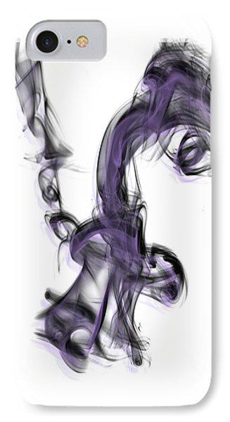Smoke 01 Purple IPhone Case