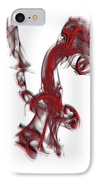 Smoke 01 Red IPhone Case
