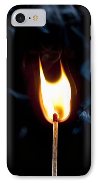 Smoke And Fire IPhone Case by Tyson and Kathy Smith