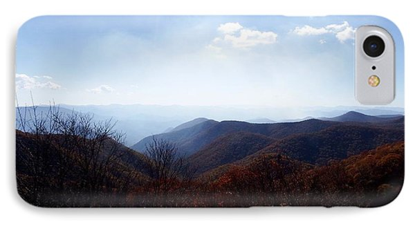 Smoke Of The Smokies IPhone Case by Cathy Harper