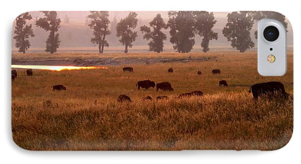 Smoke Over Lamar Valley IPhone Case by Adam Jewell