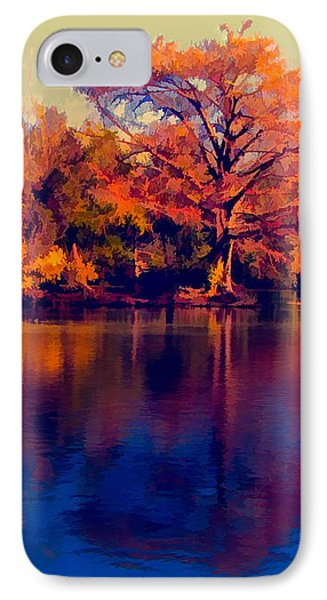 IPhone Case featuring the digital art Smoke Signals by Wendy J St Christopher