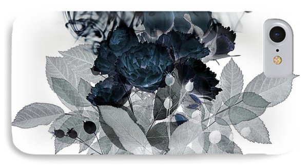 Smoke Without Fire IIi IPhone Case by Varpu Kronholm