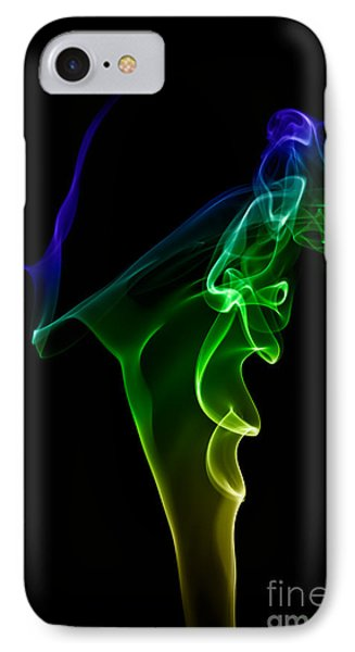 IPhone Case featuring the photograph smoke XIV by Joerg Lingnau