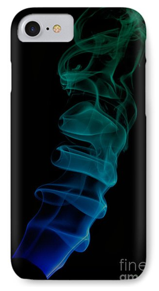 IPhone Case featuring the photograph smoke XIX ex by Joerg Lingnau