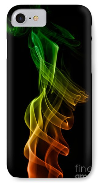 IPhone Case featuring the photograph smoke XXII by Joerg Lingnau