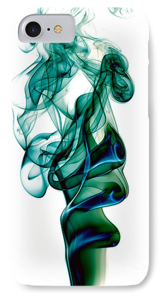 IPhone Case featuring the photograph smoke XXIII by Joerg Lingnau