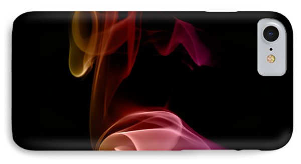 IPhone Case featuring the photograph smoke XXVII by Joerg Lingnau
