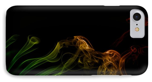 IPhone Case featuring the photograph smoke XXXI by Joerg Lingnau