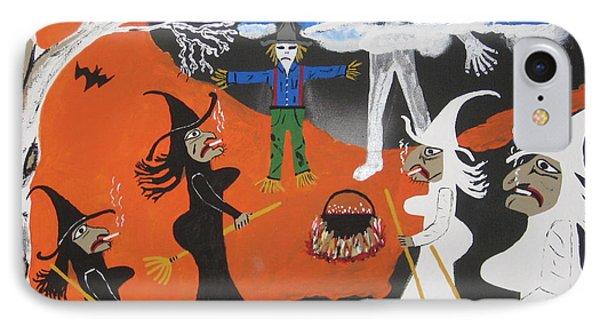Smokey Halloween IPhone Case by Jeffrey Koss