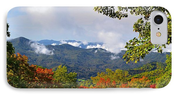 Smokey Mountain Mountain Landscape IPhone Case by James Fowler