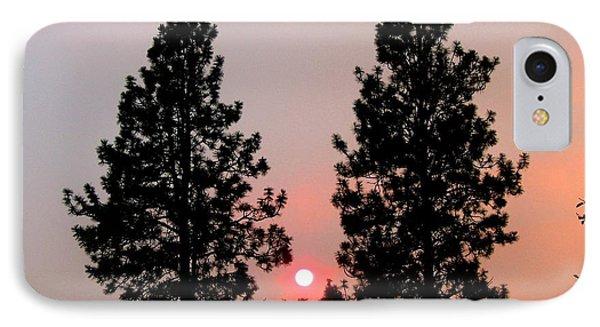 Smokey Okanagan Sunset Phone Case by Will Borden