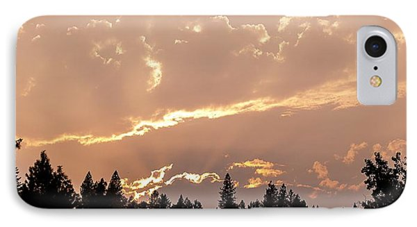 Smokey Skies Sunset IPhone Case by Melanie Lankford Photography