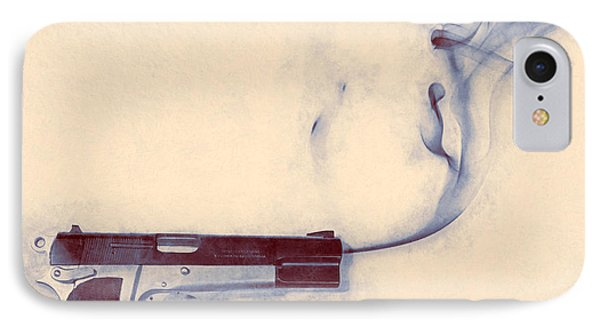 Smoking Gun IPhone Case by Scott Norris