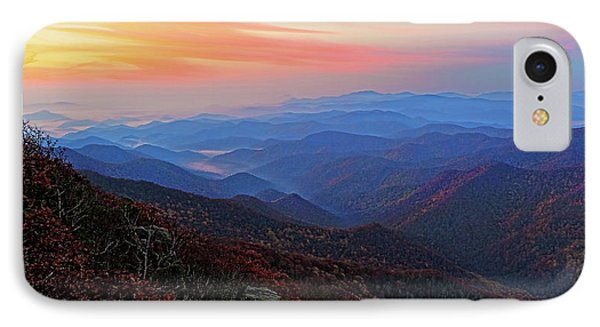 Dawn From Standing Indian Mountain IPhone Case by Daniel Reed