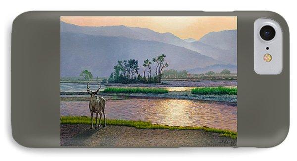 Smoky Morning Glitter IPhone Case by Paul Krapf