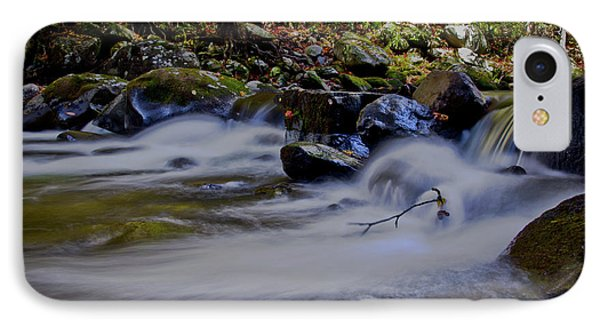 IPhone Case featuring the photograph Smoky Mountain Stream by Douglas Stucky