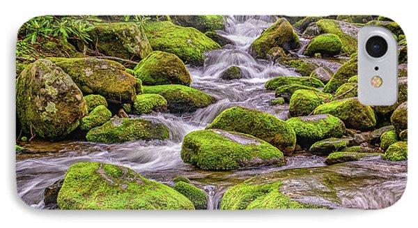 Smoky Mountain Stream IPhone Case by Nick Zelinsky